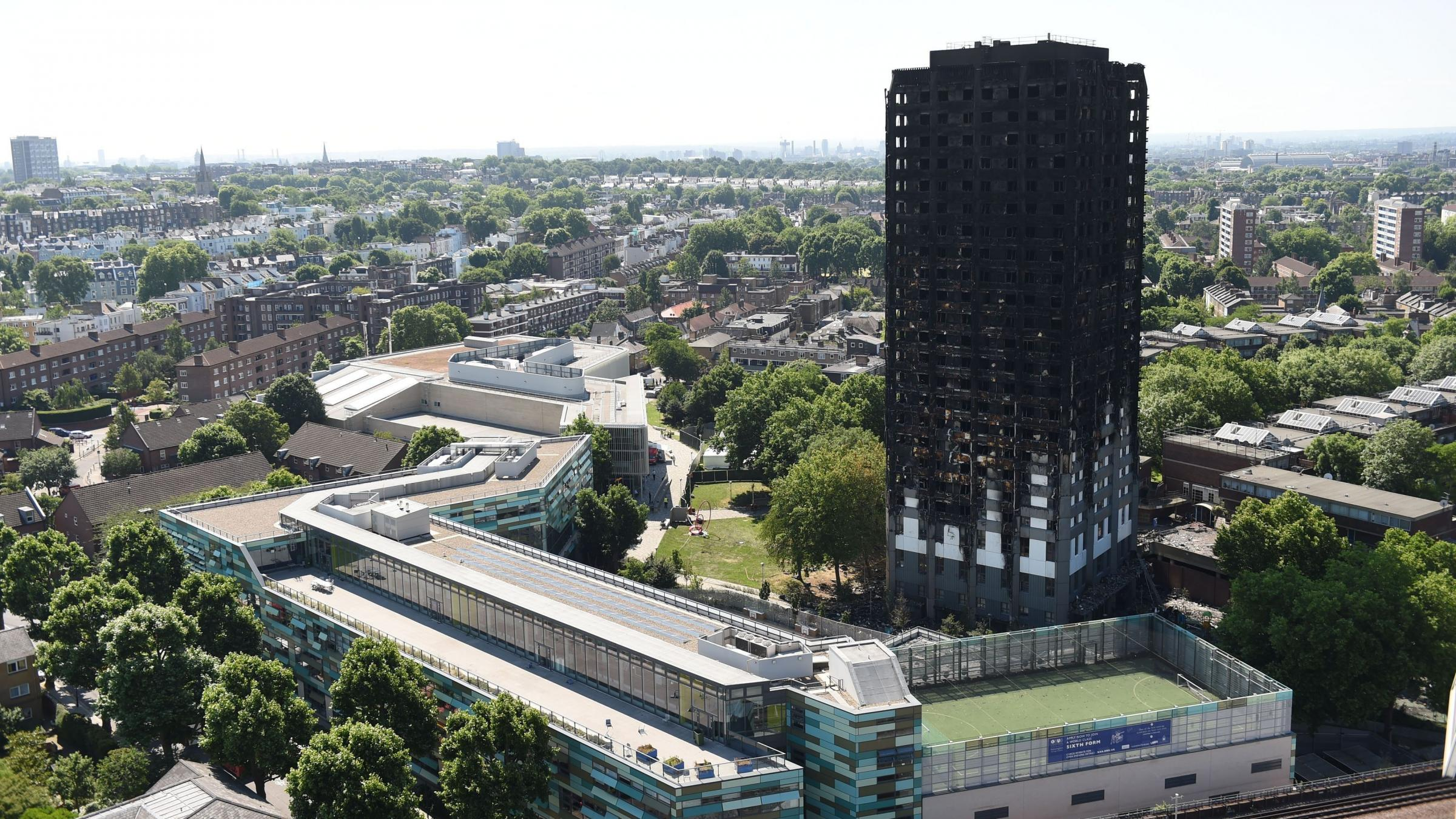 British police release footage showing devastation inside London's Grenfell tower